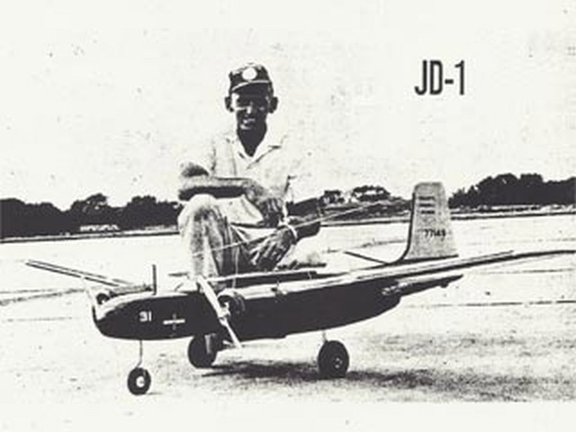 Douglas JD-1 (oz1275) by Bob Doell from Flying Models 1963