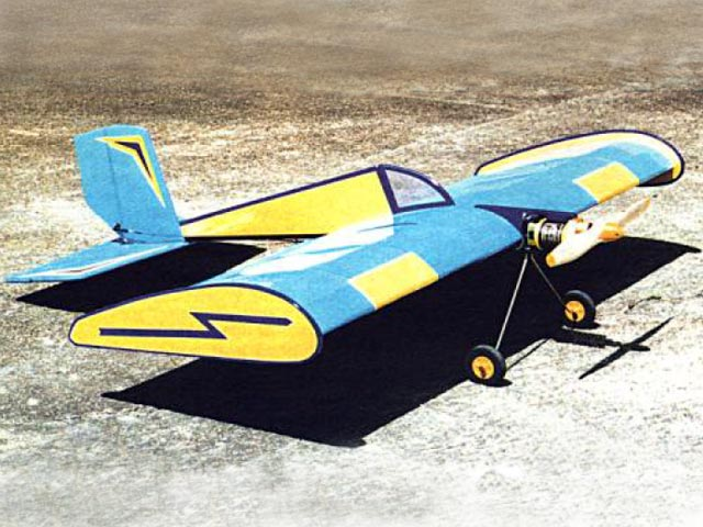 Electric Blues (oz12757) by William Whitten from Model Builder 1996