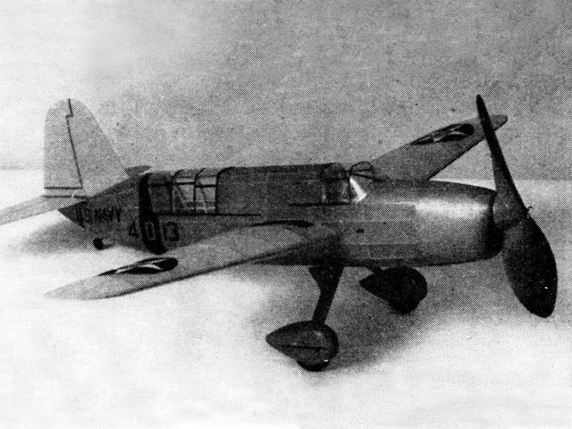 Curtiss SO3C-1 (oz12759) by Earl Stahl from Model Airplane News 1941