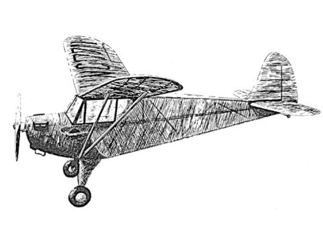 Aeronca Tandem (oz12762) by Ronnie Albert from Model Builder 1980