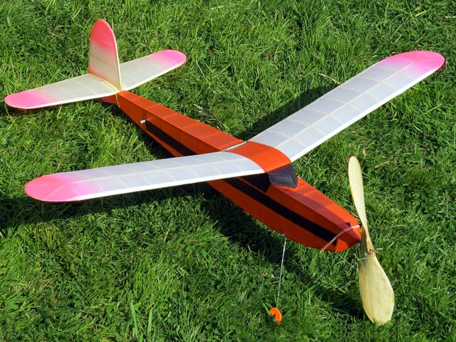 Bowden Baby Duration (oz12767) by CE Bowden from Welbeck Model Aircraft 1946