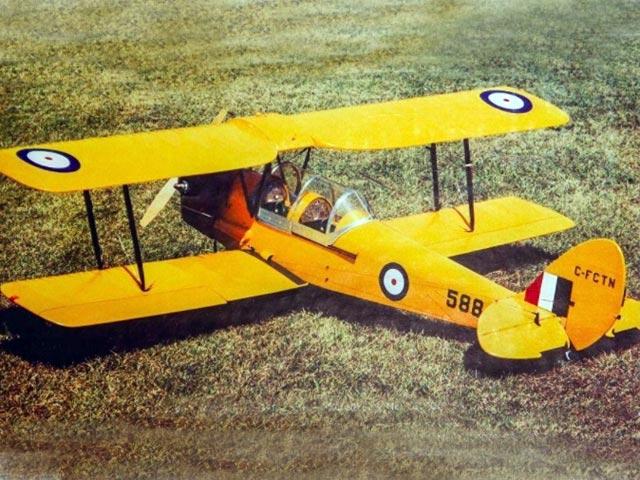 Tiger Moth DH82C - 12775