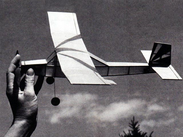 Tutor (oz12779) by Jim Kostecky from Model Aviation 1984