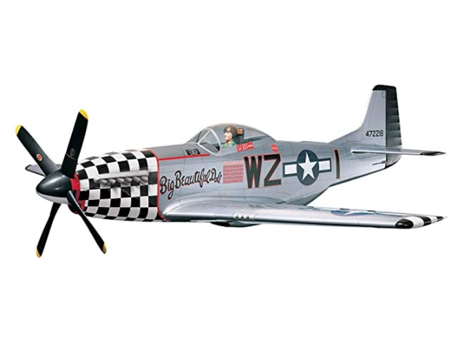 P-51D Mustang (oz12783) by David Ribbe from Top Flite 1994