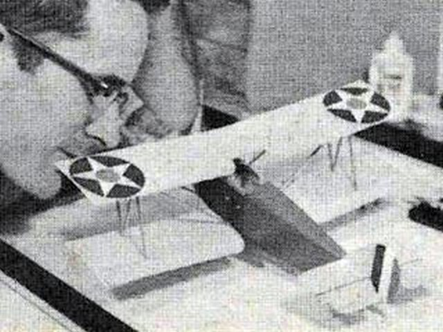 Sperry Messenger (oz1281) by Dave Robelen from Model Airplane News 1969
