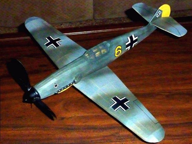 Messerschmitt Me109G - 12825
