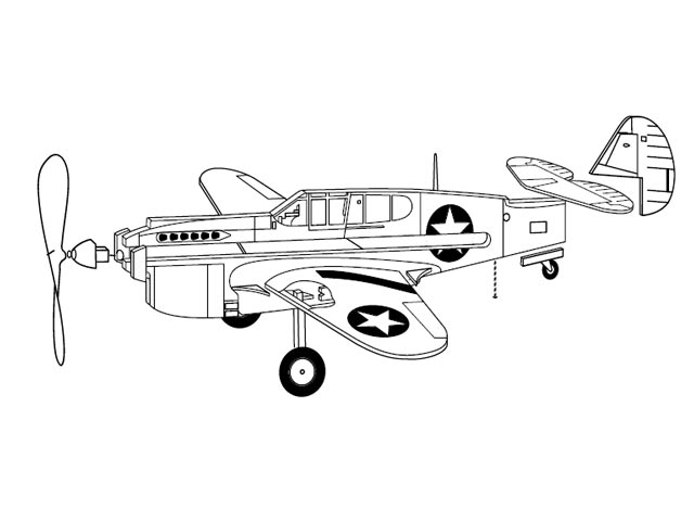P-40 Warhawk - 12839