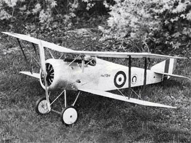 Hanriot HD-1 - completed model photo