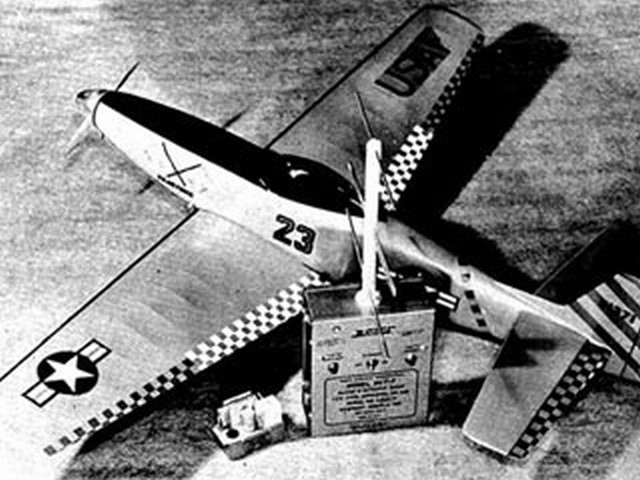 P-51 Mustang - completed model photo