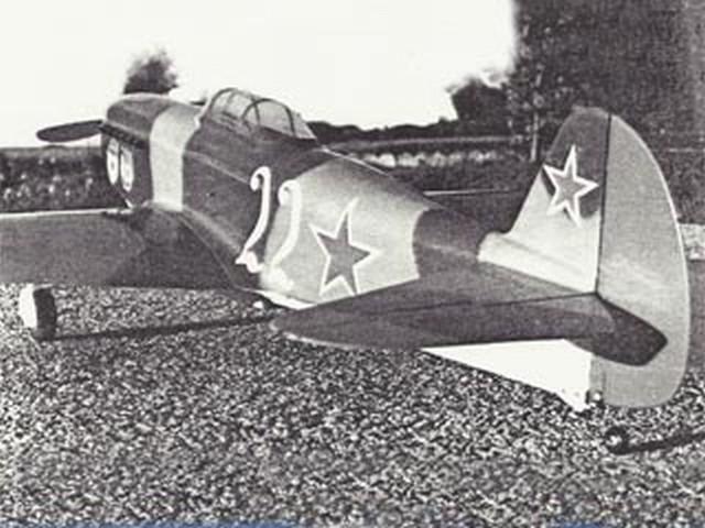 Yak-9 (oz1291) by Dan Reiss from Flying Models 1975