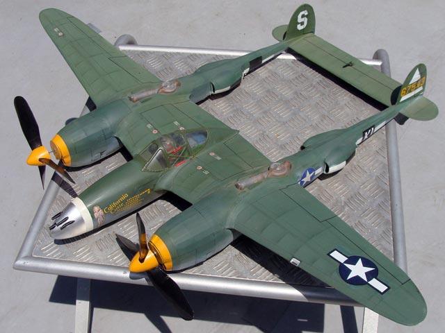 Lockheed  P-38J Lightning - 12939