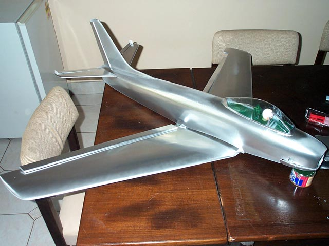 F-86 Sabre (oz12942) by Gus Morfis from Scale R/C Modeler 1997