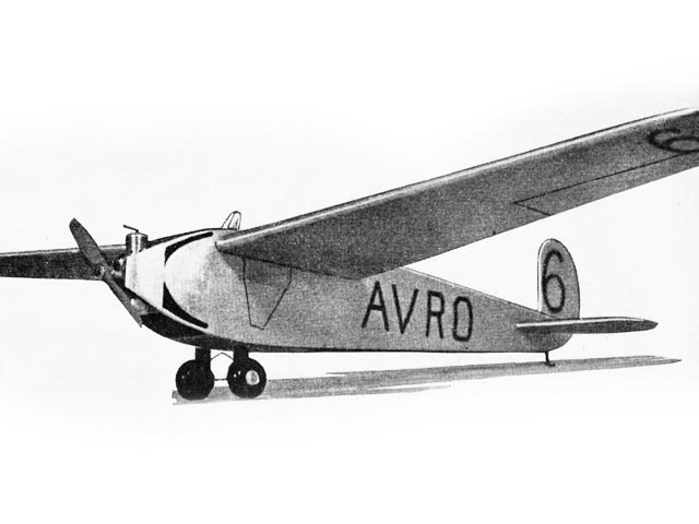 Avro 560 (oz12950) by PMH Lewis from Model Aircraft 1953
