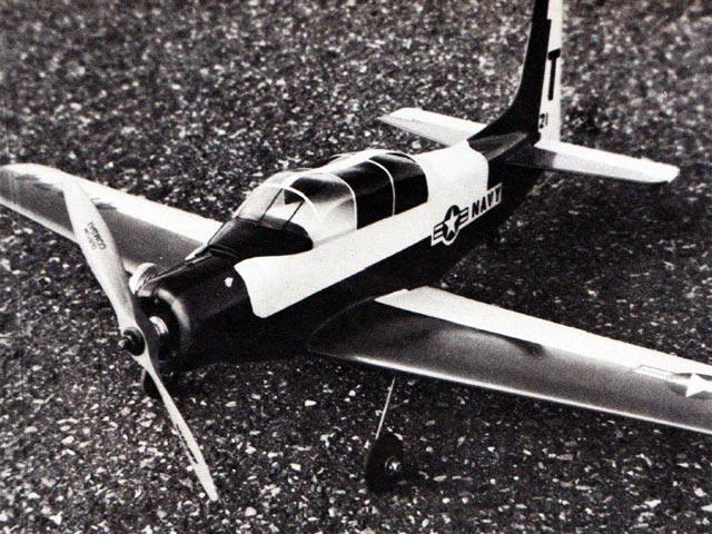Douglas Skyraider (oz12986) by Marvin Martinez from Model Airplane News 1977