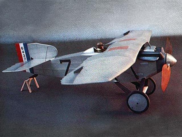 Thomas Morse MB-7 (oz12988) by Bill Noonan from Model Aviation 1985