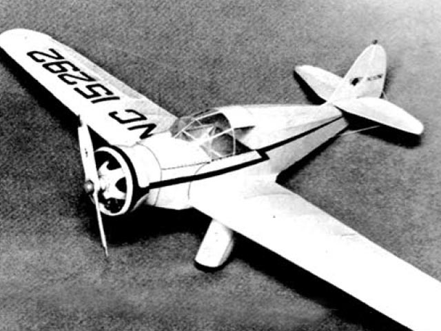 Aeronca L (oz1301) by Paul Lindberg from Popular Aviation 1936