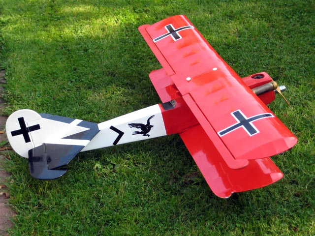 Fokker DVII (oz13028) from Robbe