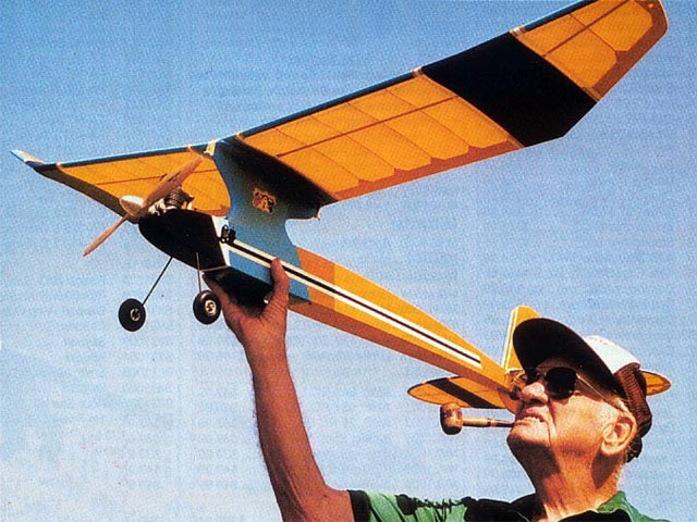 Airfoiler (oz1304) by Hal deBolt from Model Airplane News 2001