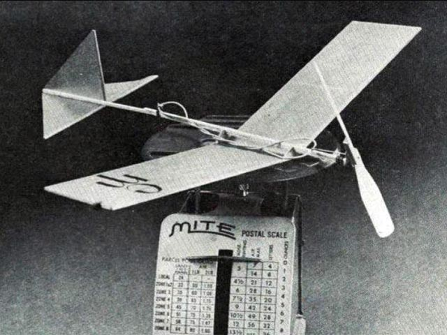 Escondido Mosquito (oz13137) by Bill Hannan from Model Builder 1970