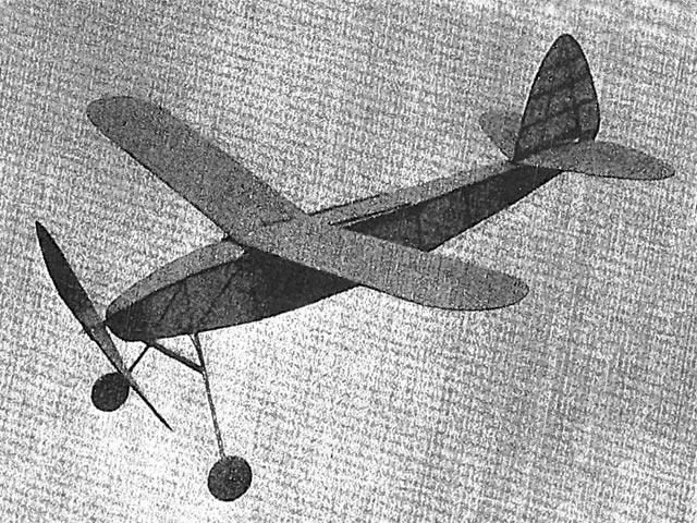 Air Cadet (oz13140) by CA Rippon from Aeromodeller 1940