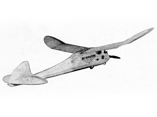 Planeteer (oz13157) by Maurice Schoenbrun from Flying Models  1948