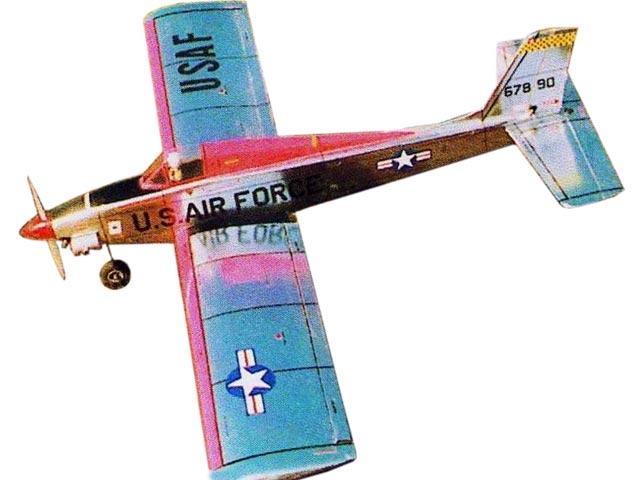 Jetfire II (oz13162) by Ian Peacock from Aviation Modeller International 2000