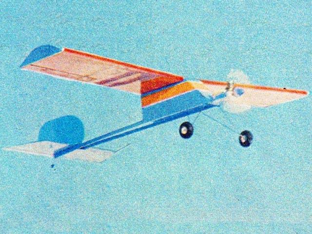 Swizzle Stick 60 (oz13183) from Balsa USA 1980