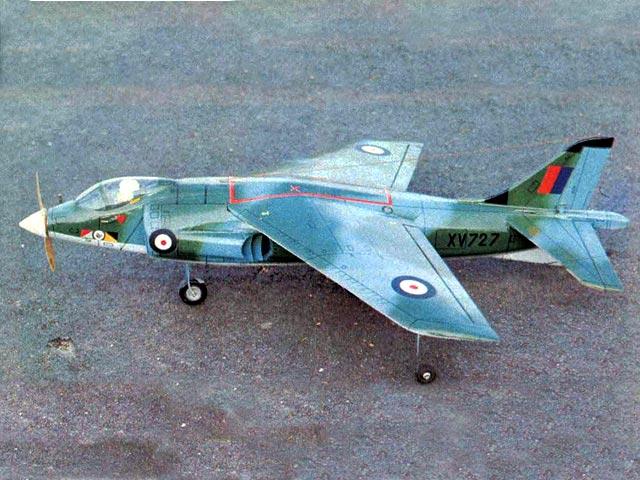 Hawker Harrier - oz13253