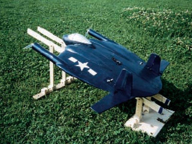Chance Vought XF5U-1 - oz13255