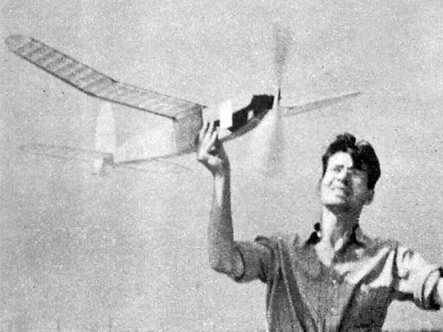 Lanzo Stick (oz13262) by Chester Lanzo from Air Trails 1940