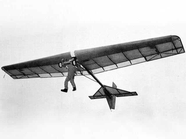 Volmer VJ-23 Swingwing (oz13300) by Vern Schroeder from RCMplans 1974