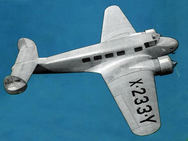 Lockheed Electra (oz13338) by Virgilio Sturiale from Model Aircraft Engineer 1934