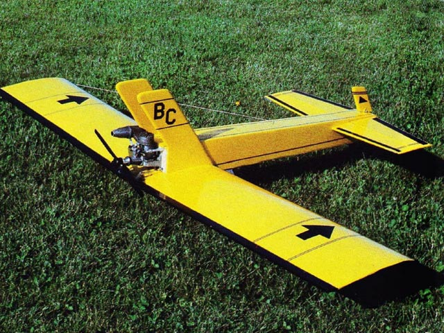 Basic Canard (oz13365) by Floyd Manly from Model Airplane News 1985