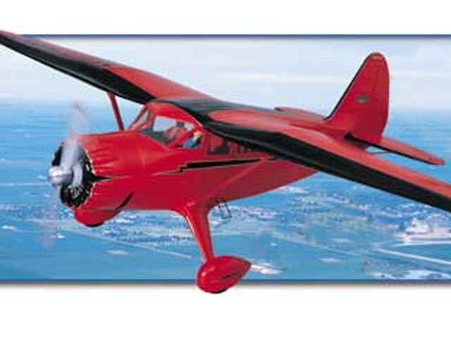 Stinson Reliant (oz13386) by Ernest J LeClair from Top Flite 1999