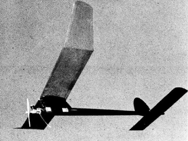 Raider (oz13392) by Joe Bilgri from Flying Models 1960