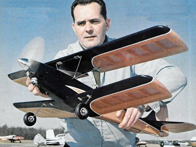 Vixen Aerobatic (oz1340) by Gene Rogers from Flying Models 1969