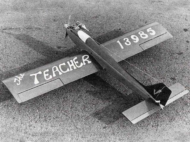 Teacher (oz1353) by Jack Sheeks from Flying Models 1981