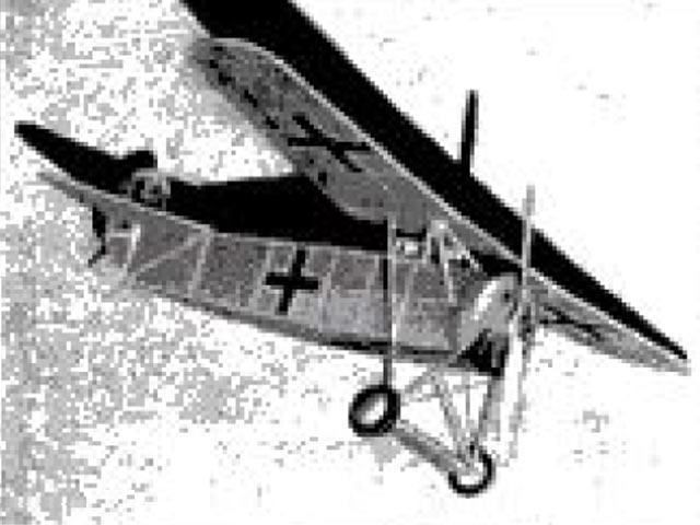 Fokker D8 (oz136) by Alex Horback from Comet 1935