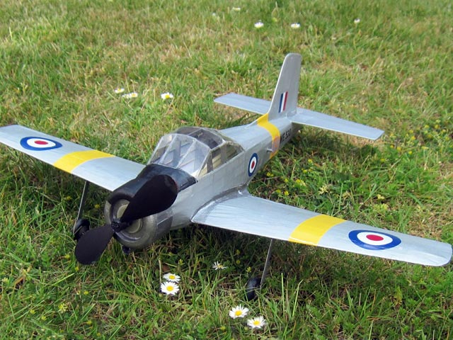 Percival P.56 Provost - completed model photo