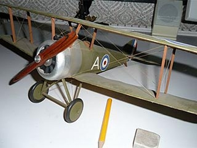 Sopwith Camel - completed model photo