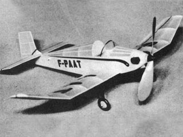 Bebe Jodel (oz1413) by Gerald Zeigenfuse from Model Airplane News 1958