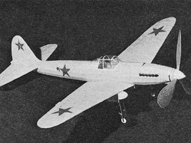 Stormovik (oz1416) by Clarence Mather from American Aircraft Modeler 1970