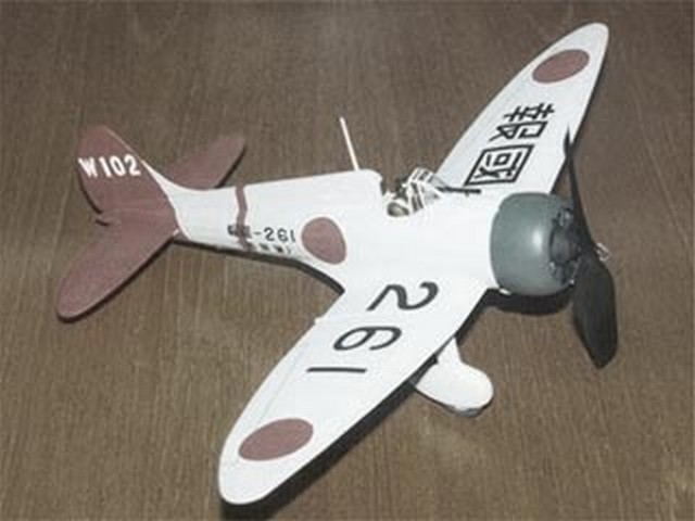 Mitsubishi A5M2a Claude - completed model photo