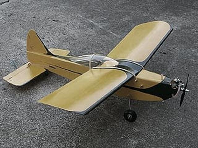 Roaring 20 (oz1429) by Ken Willard from Model Airplane News 1962