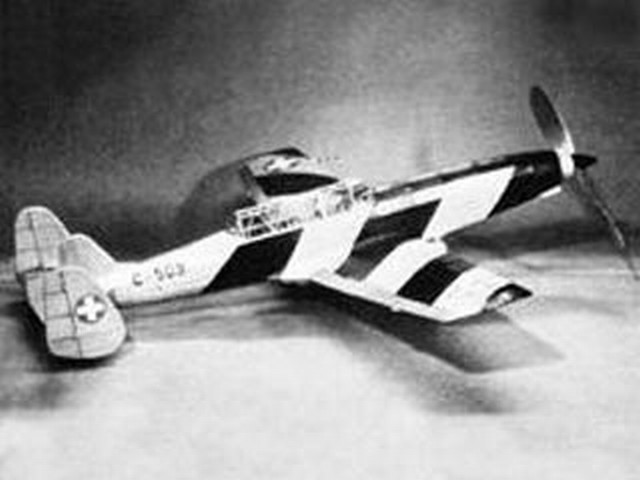 C-3605 Schlepp (oz1430) by Don Srull from Model Airplane News