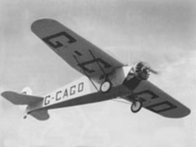 Fokker Universal (oz1435) by Bill Noonan