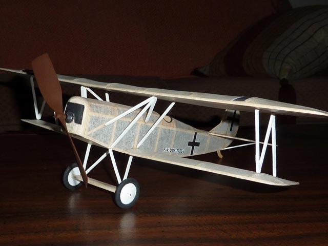 Fokker D7 (oz144) by Alex Horback from Comet