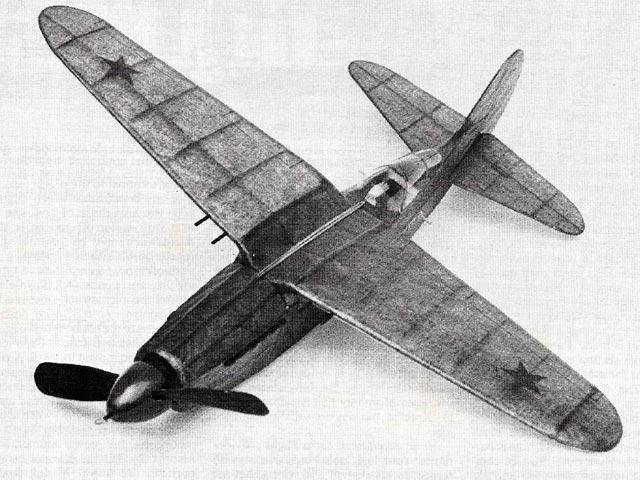 Nikitin Schevchenko IS-4 (oz1444) by Mark Fineman from Model Airplane News 1981