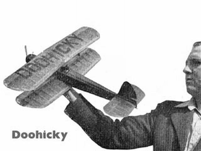 Doohicky (oz1452) by John Swift from Aeromodeller 1954
