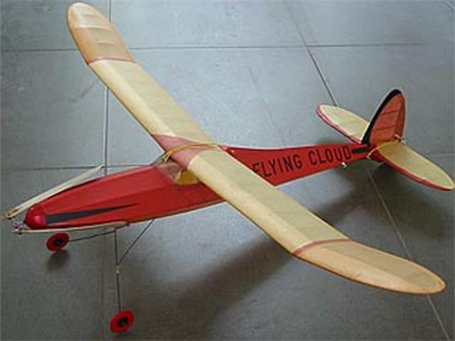 Flying Cloud (oz1479) by Henry Struck from Berkeley 1940